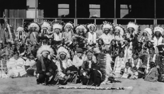 Living and working there alongside filmmaker Thomas Ince was a group of Native Americans that stared in numerous films.