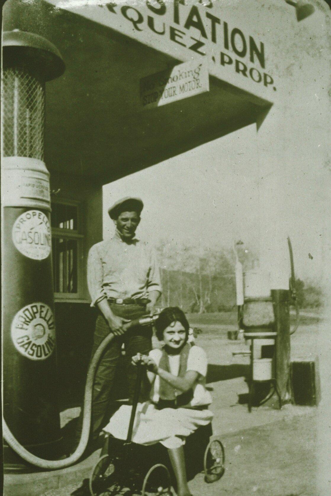 Marquez Filling Station 1923