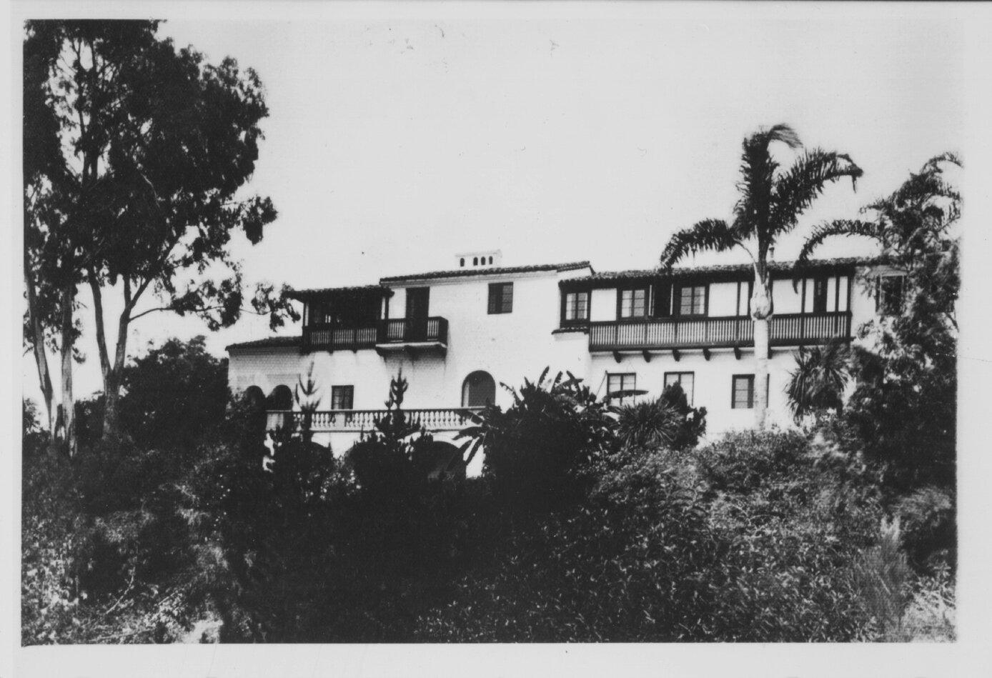 Times Demonstration House  - Villa Aurora 1927