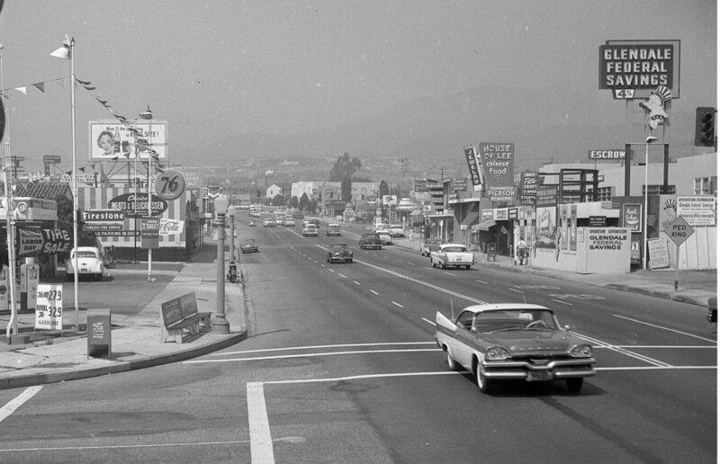 Sunset Boulevard 1957