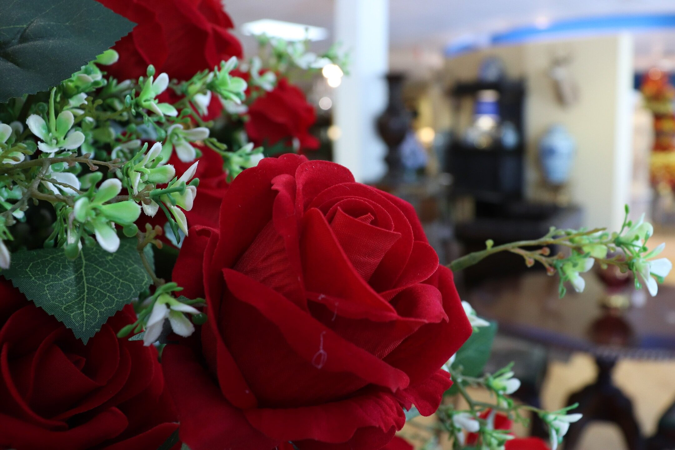 We offer other services as well - With an in-house florist and interior designer we can make your home unique and personalized.