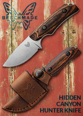 Benchmade Knives Ad
