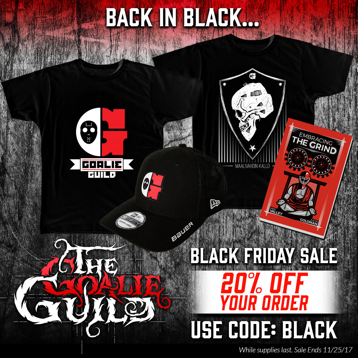 The Goalie Guild Black Friday Ad
