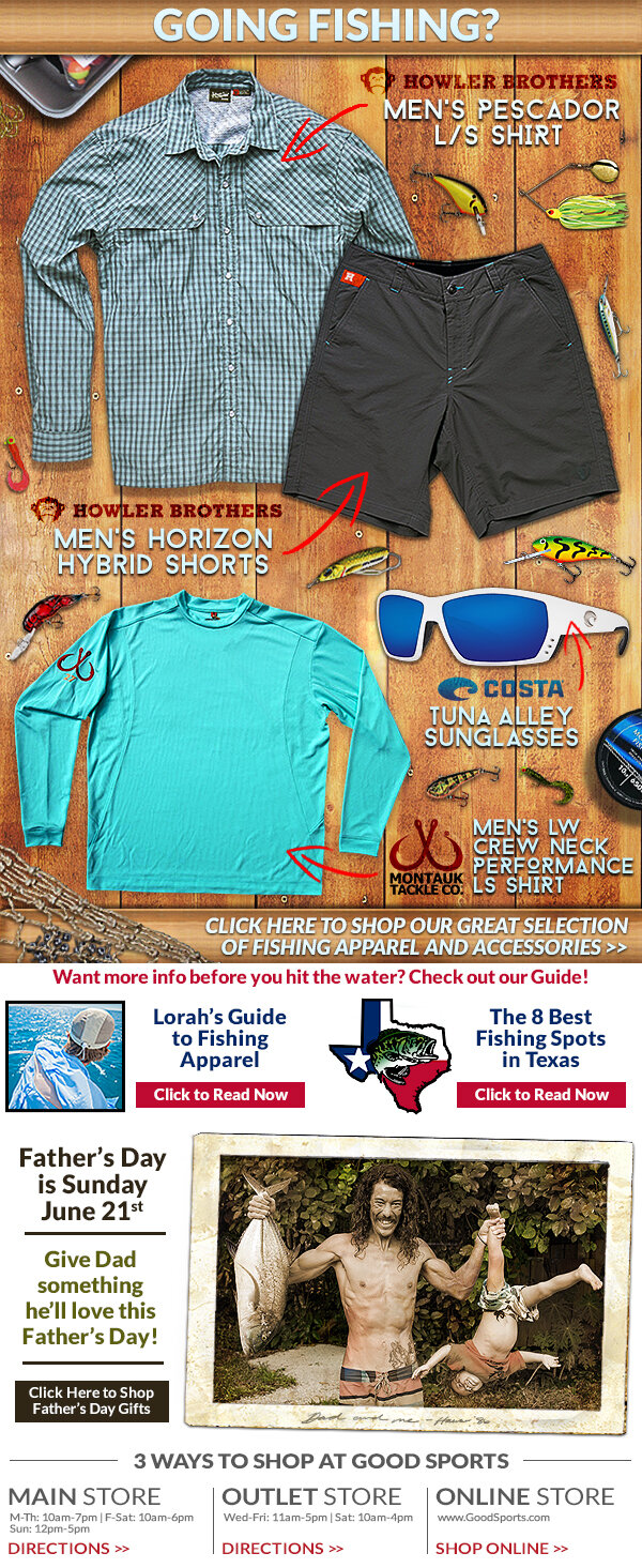 Fishing Spotlight Email Blast