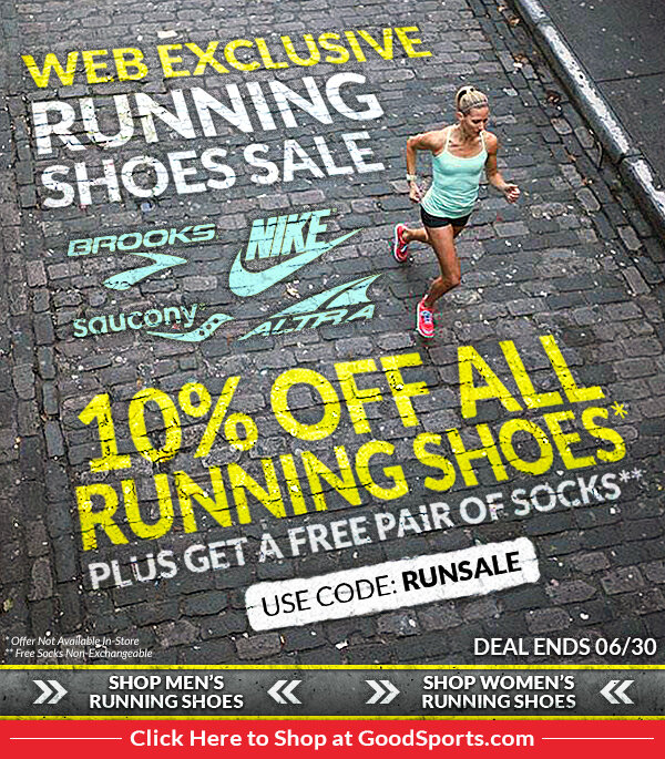 Running Shoes Sale Email Blast
