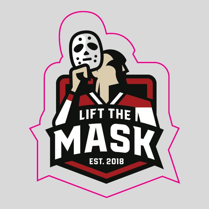 Lift The Mask Die Cut