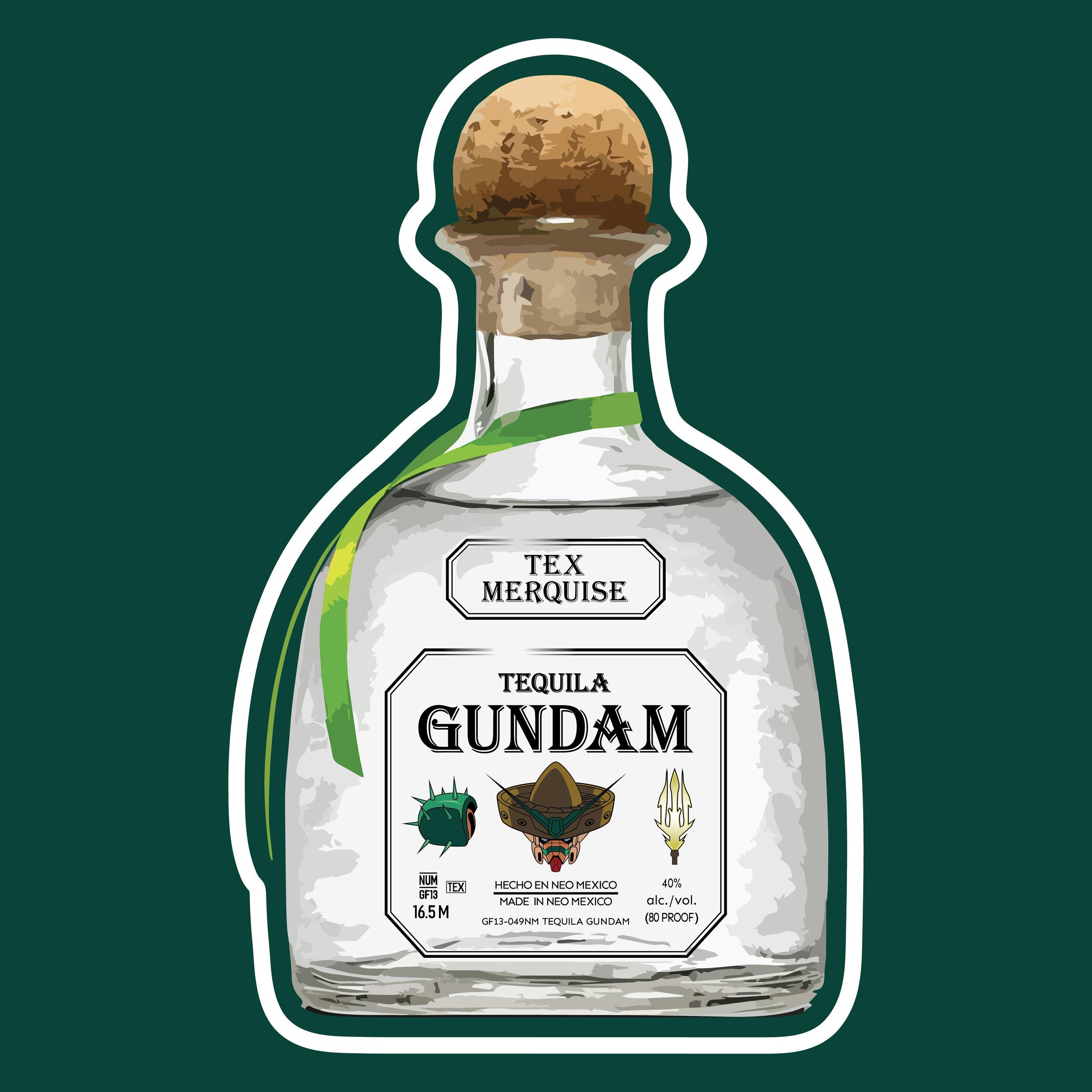 Tex Merquise Tequila Gundam