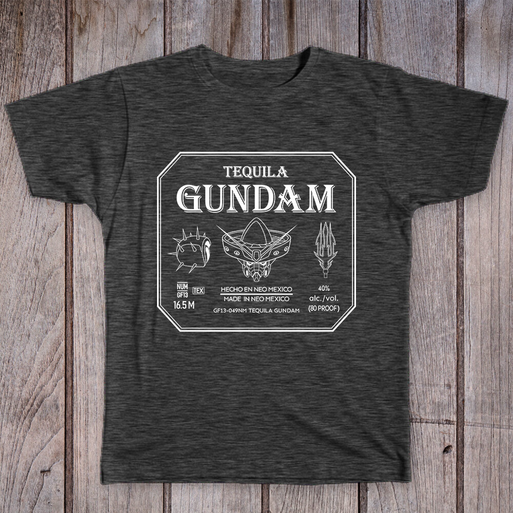 Tequila Gundam Label
