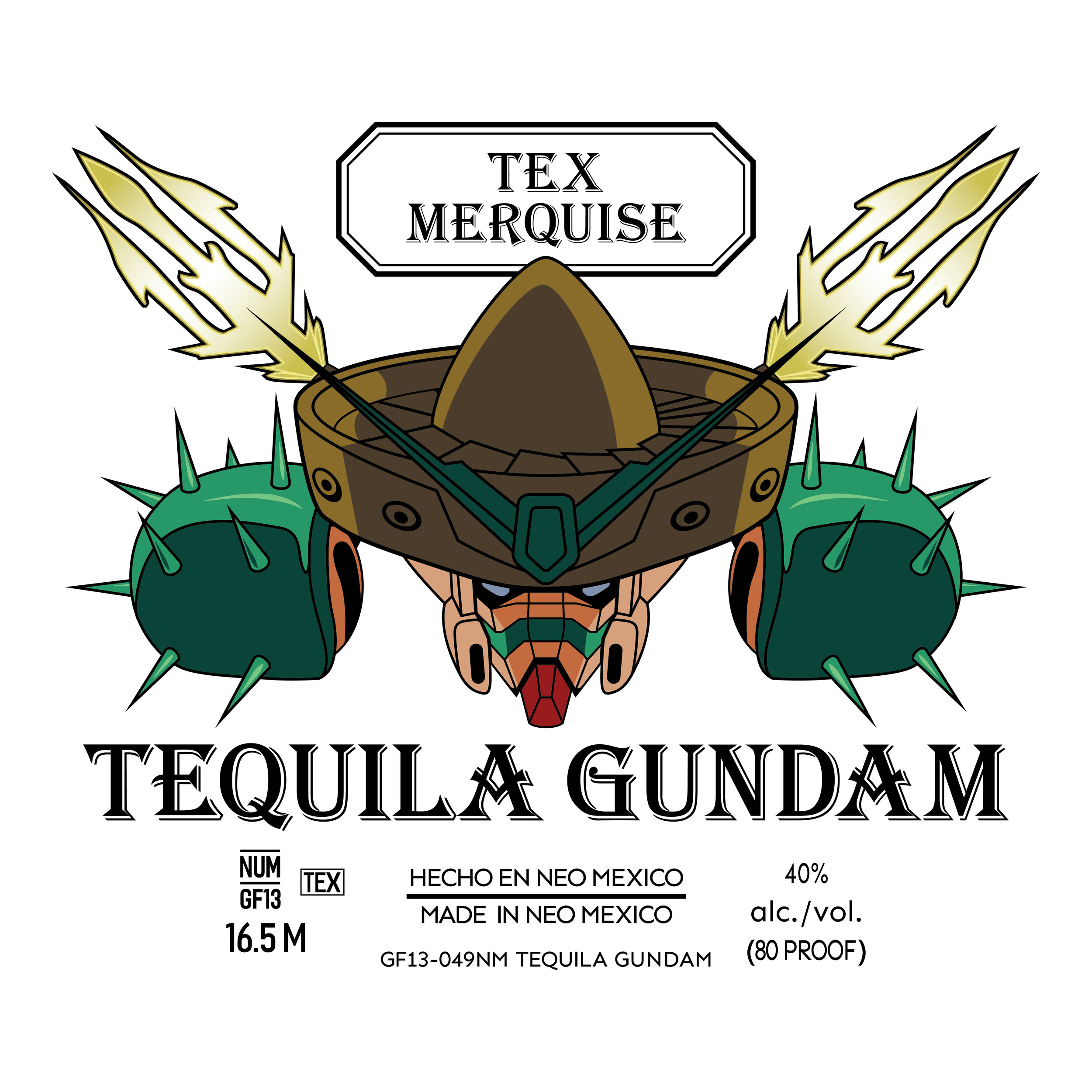 Tequila Gundam Alternate Graphic