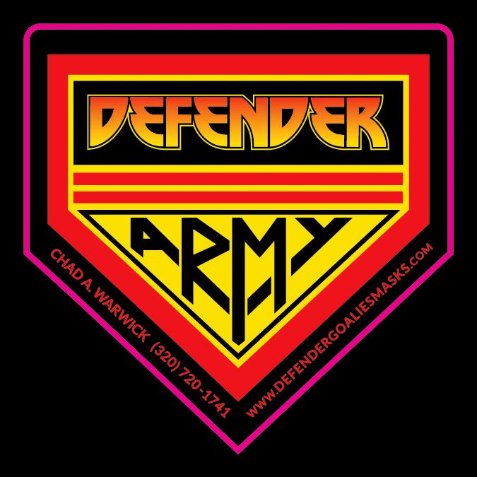 Defender Army Die Cut