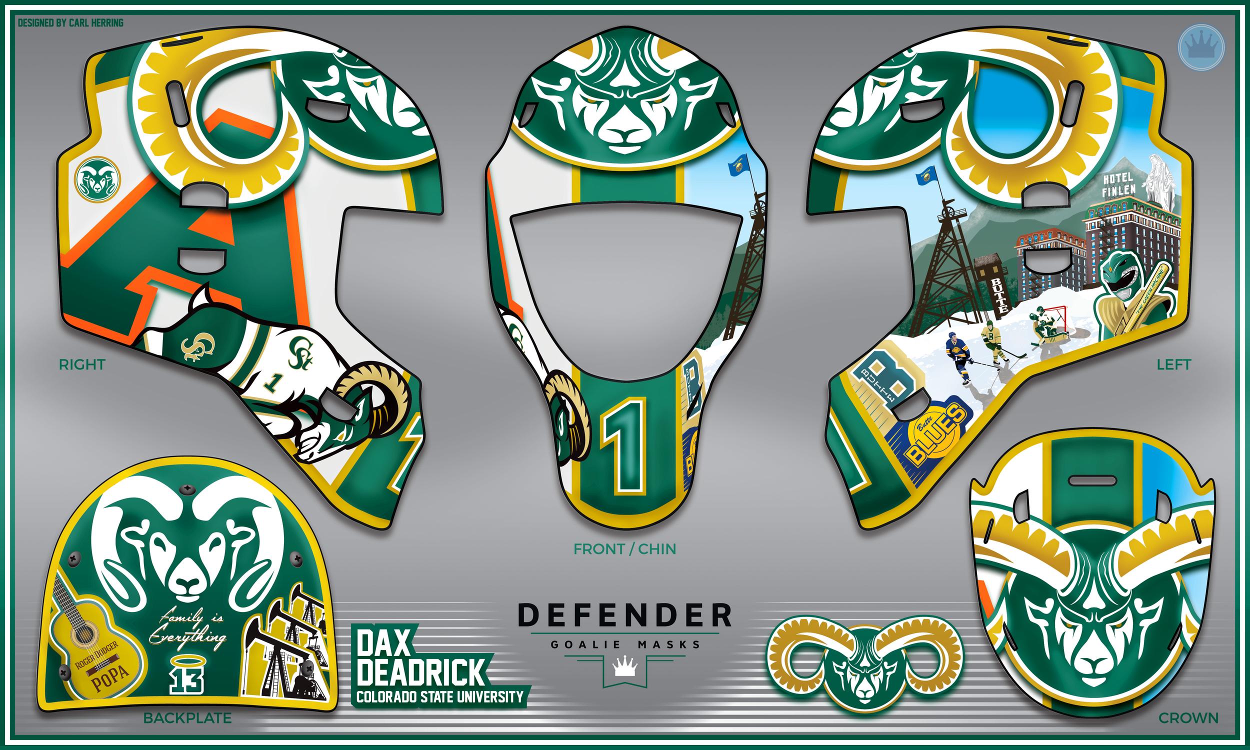 Dax Deadrick CSU Mask Design
