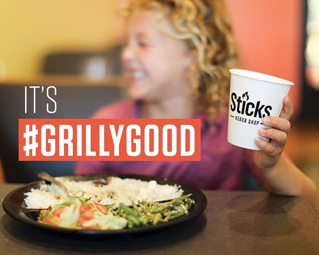 What dish from Sticks makes you smile like this? 😁 #grillygood
