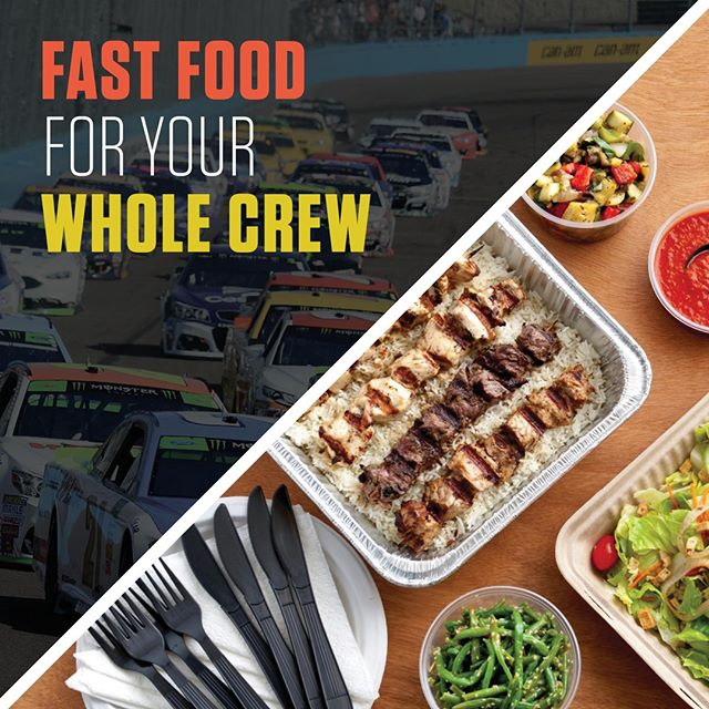 Hey #NASCAR fans! Looking for a fast and delicious meal to bring to #RichmondRaceway this week? Stop by Sticks Kebob Shop in Willow Lawn for an awesome selection of wraps, kebobs, sides and more! Plus, don't forget about our Pick Six take-out option that serves 4-6 people!