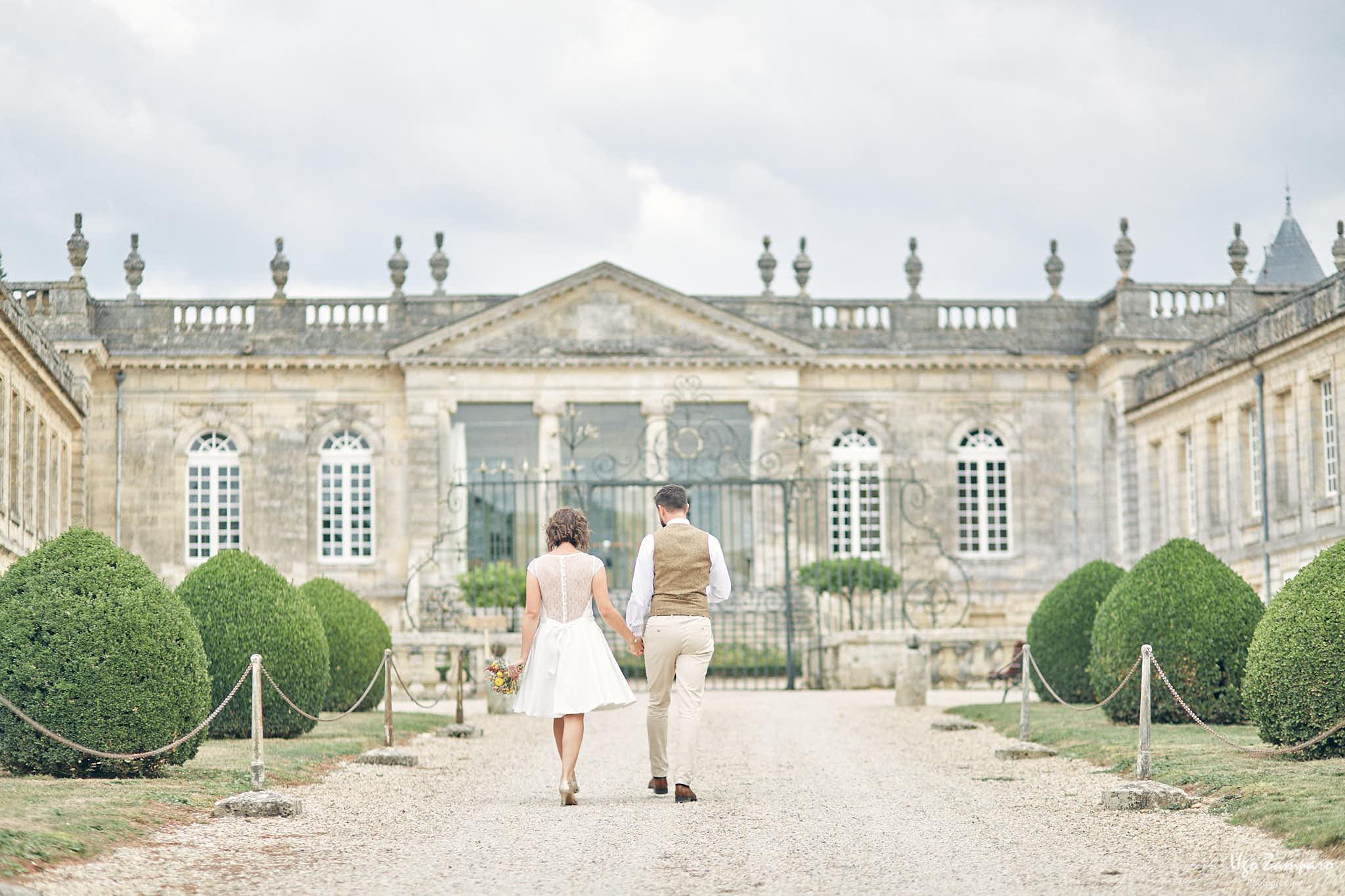 Photos de couple au Château Saint-Georges