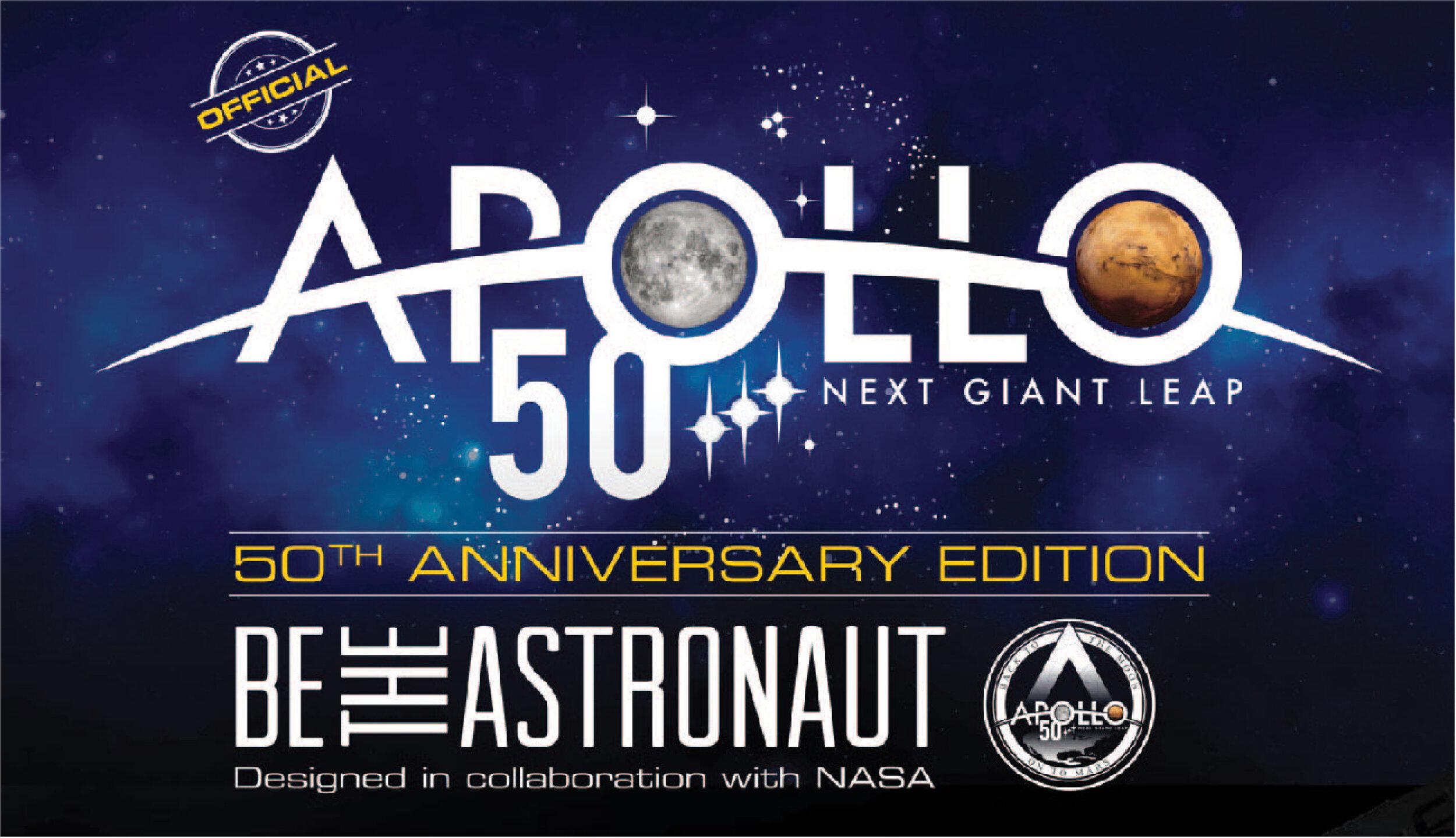 Be the Astronaut -  Apollo 50th Edition    Exhibit Brochure