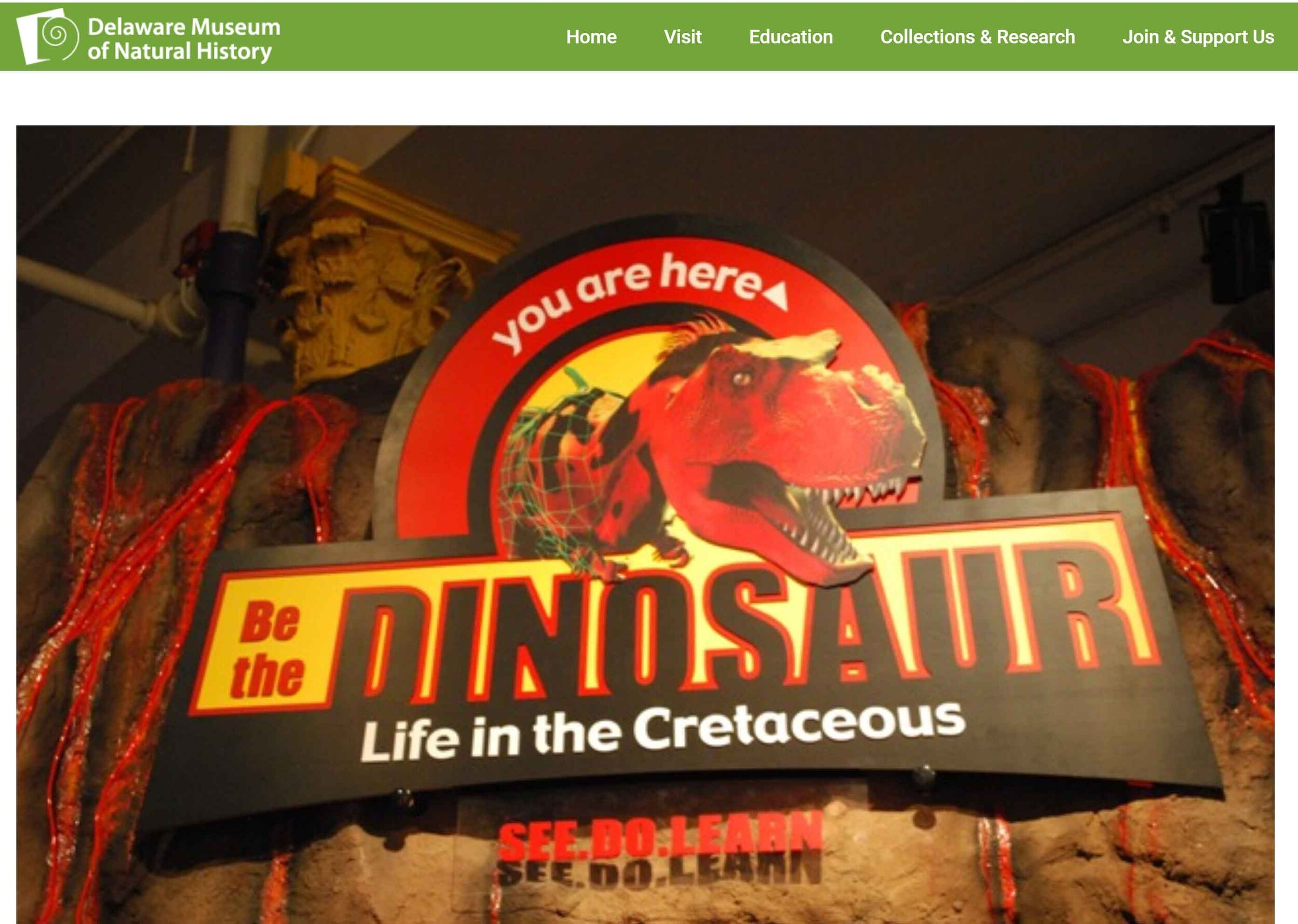 Delaware Museum of Natural History - October 26, 2019 - January 19, 2020