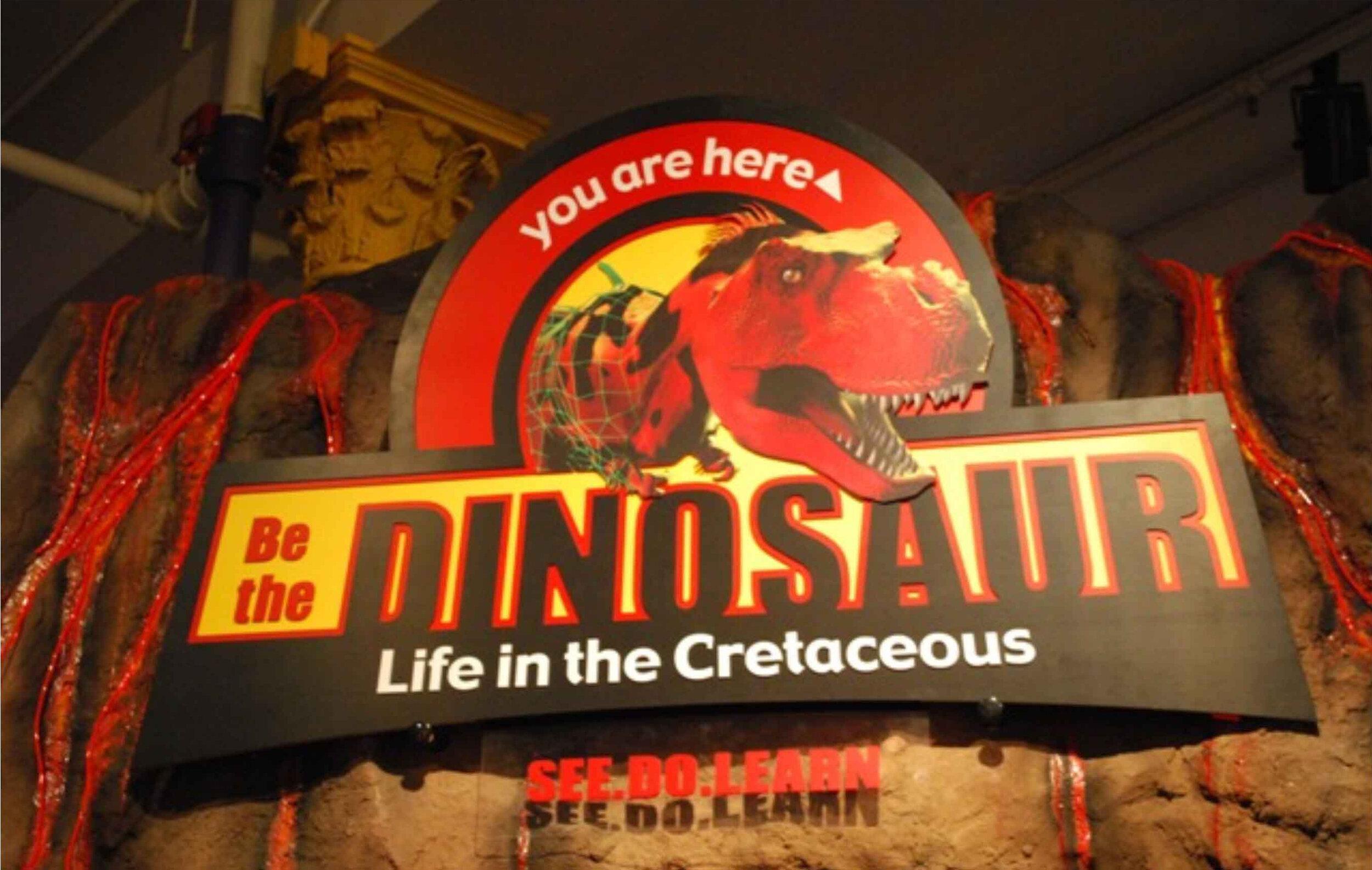 Be the Dinosaur    Exhibit Brochure    Sample floorplan/layout   Photo gallery