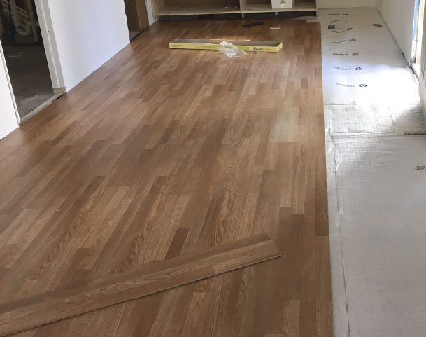 Update your space with new flooring.