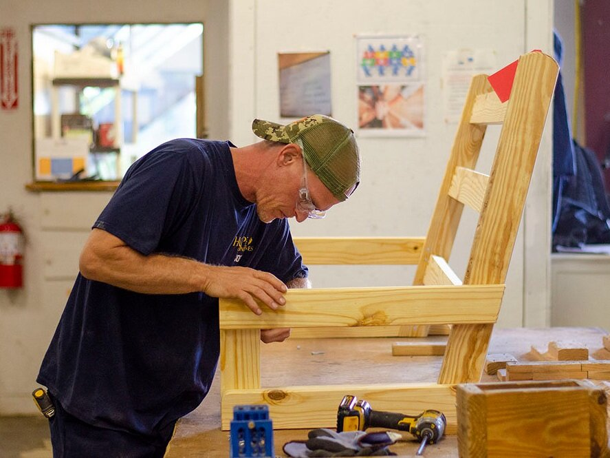 CUSTOM FURNITURE MANUFACTURING - We build specialty furniture items ranging from beds and bookcases for educational institutions to benches and planters for community improvement initiatives.We have over 10 years of experience in crafting for unique client needs.