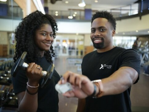Isis Ashford and Kehlin Swain, Co-founders of Xplosion Tech