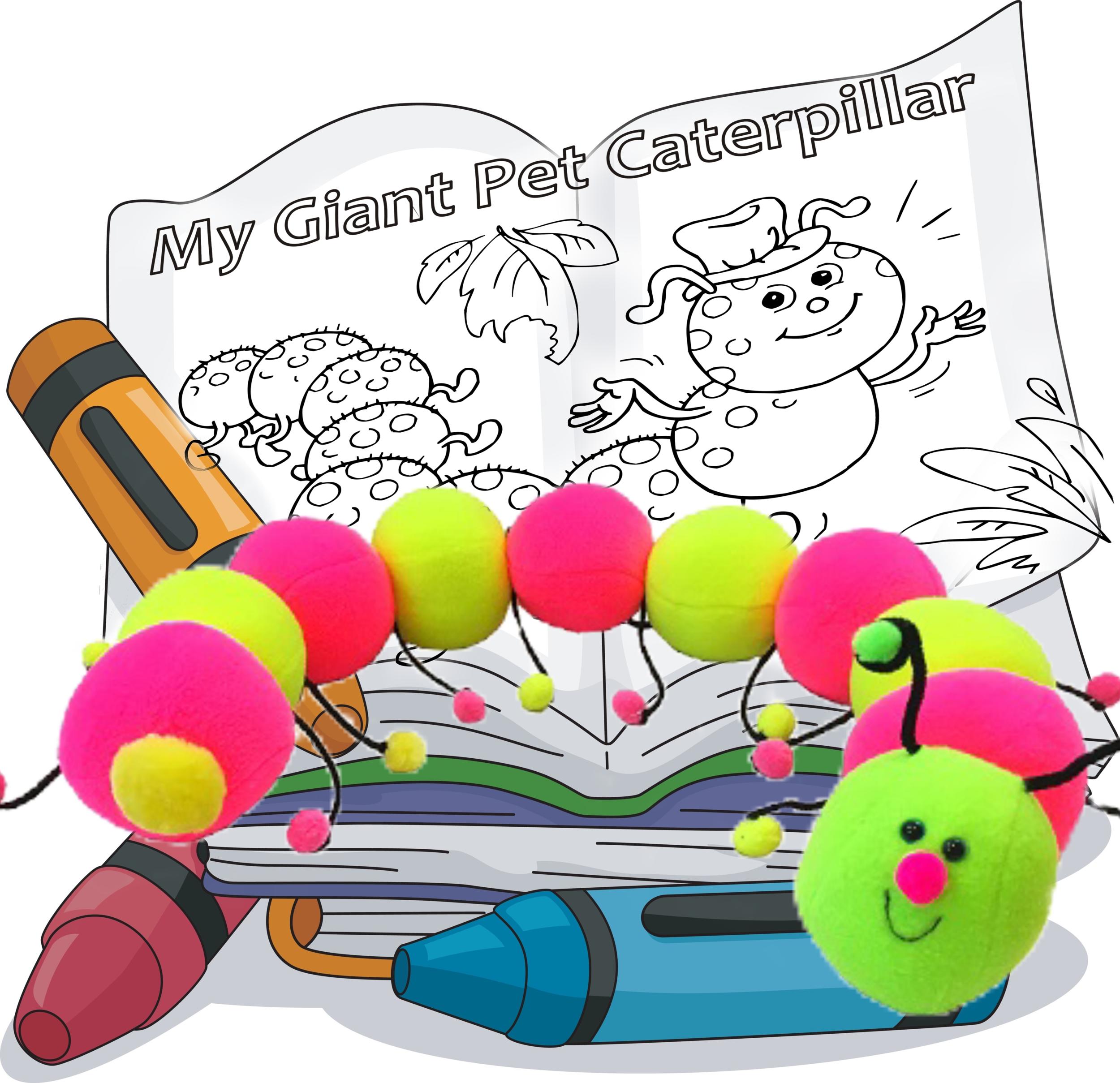 My Giant Pet Caterpillar -