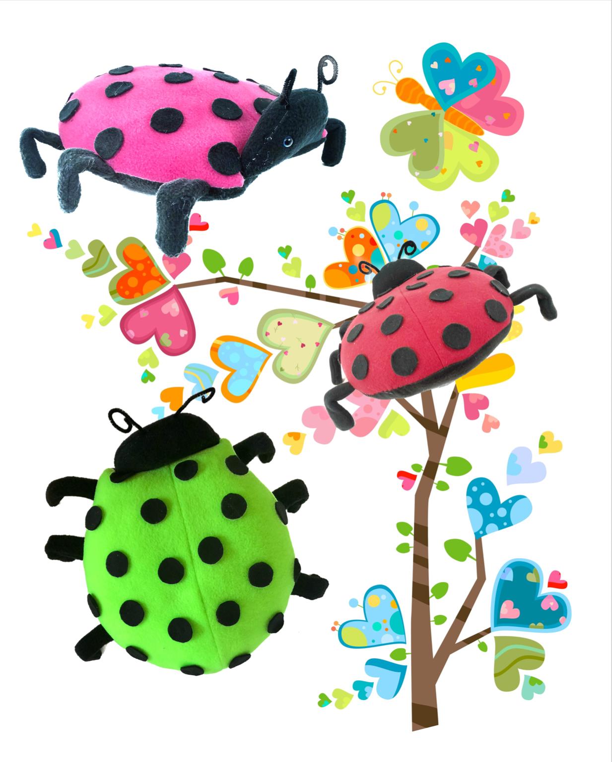 Bug's Life - Ladybug hugs and butterfly kisses!
