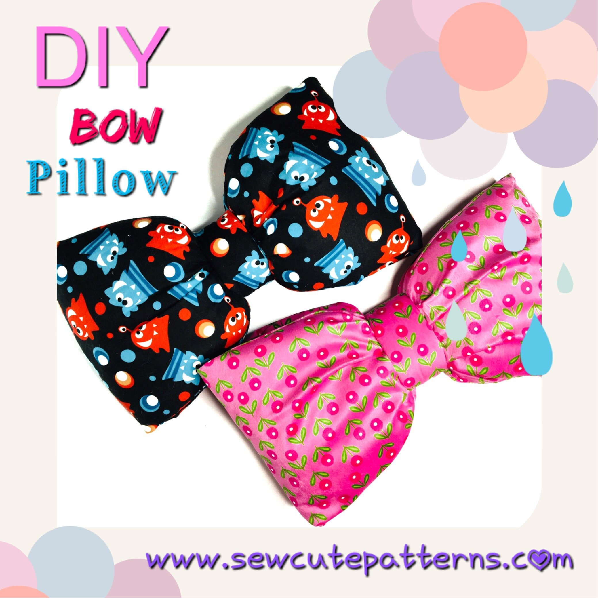 Bow Pillow -