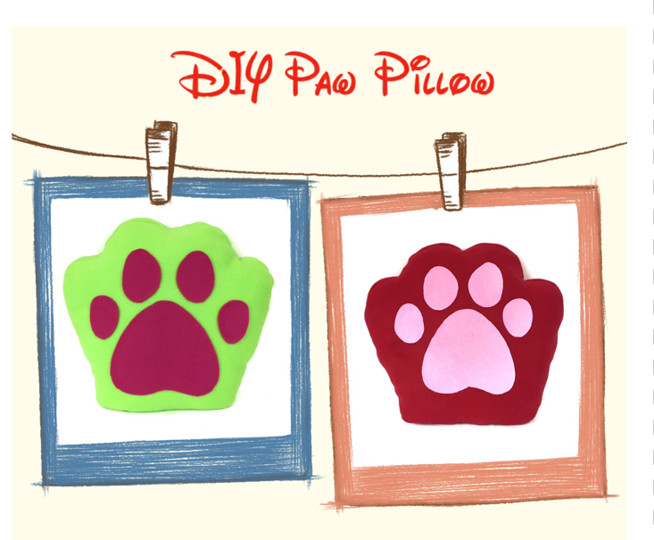 Paw Pillow -
