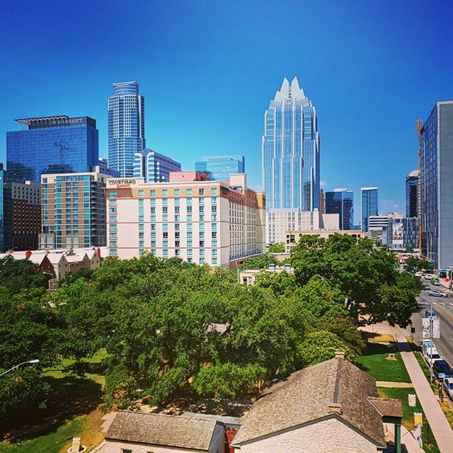 Gorgeous day in Austin. We'll have a recap of new music and day's events later today!