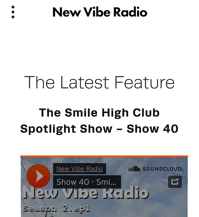 Been working on relaunch of our website. Take a look at newviberadio.com