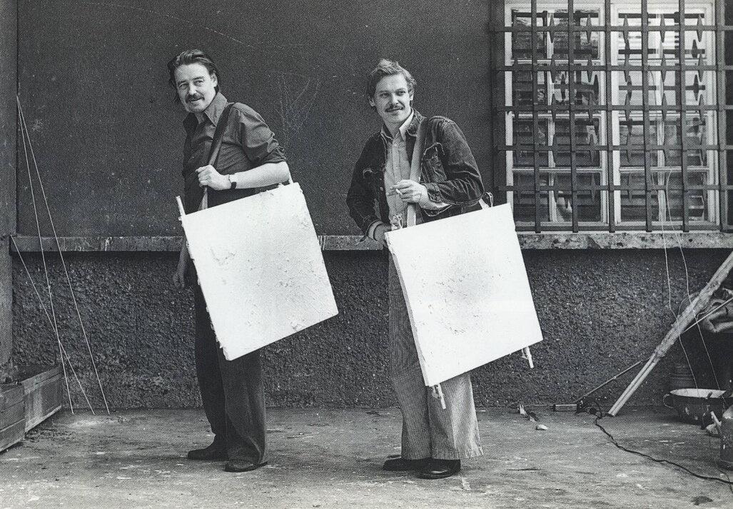 Franz West, Otto Kobalek and Reinhard Priessnitz with Passtuck, 1975, 2.jpeg