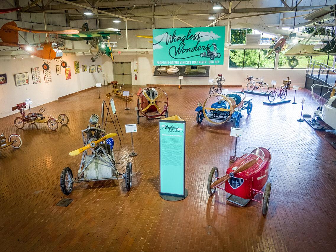 Detour Pit Stop #43: Lane Motor Museum, Nashville, USA