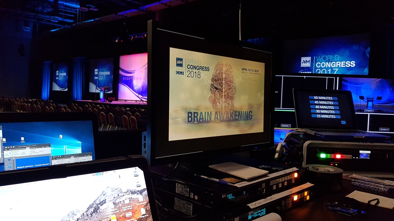 Driftwood video support at a live event in the United States.