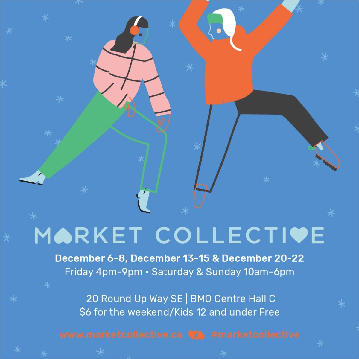 - Market Collective Christmas Edition is coming up soon with 3 weekends to check out!IFK will be set up on December 13-15 with a booth collab featuring Gipsy Tiger Tattoo, Highwood Vintage and La Donna Barber!Details: - 160 Artists, Food Vendors and Special Features each weekend- A stage that will be programmed with: 43 bands, 5 DJ's, and a few dance troops.- A skatepark at the back of the space (designed and painted by local skateboarders + artists).- A kids zone- An installation for people to take photos with- Approximately 10,000 square feet of space licensed with Annex beer- 5 indoor food trucks, as well as Rosso, True Buch, Nitro Bros, Made by Marcus and many other food vendors to keep you feelin' good all weekend.