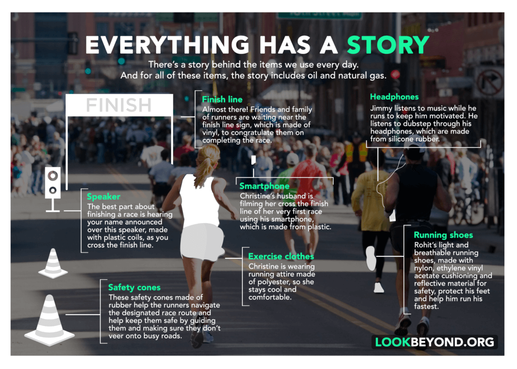 Look Beyond Race Infographic