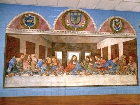 Last Supper Mural
