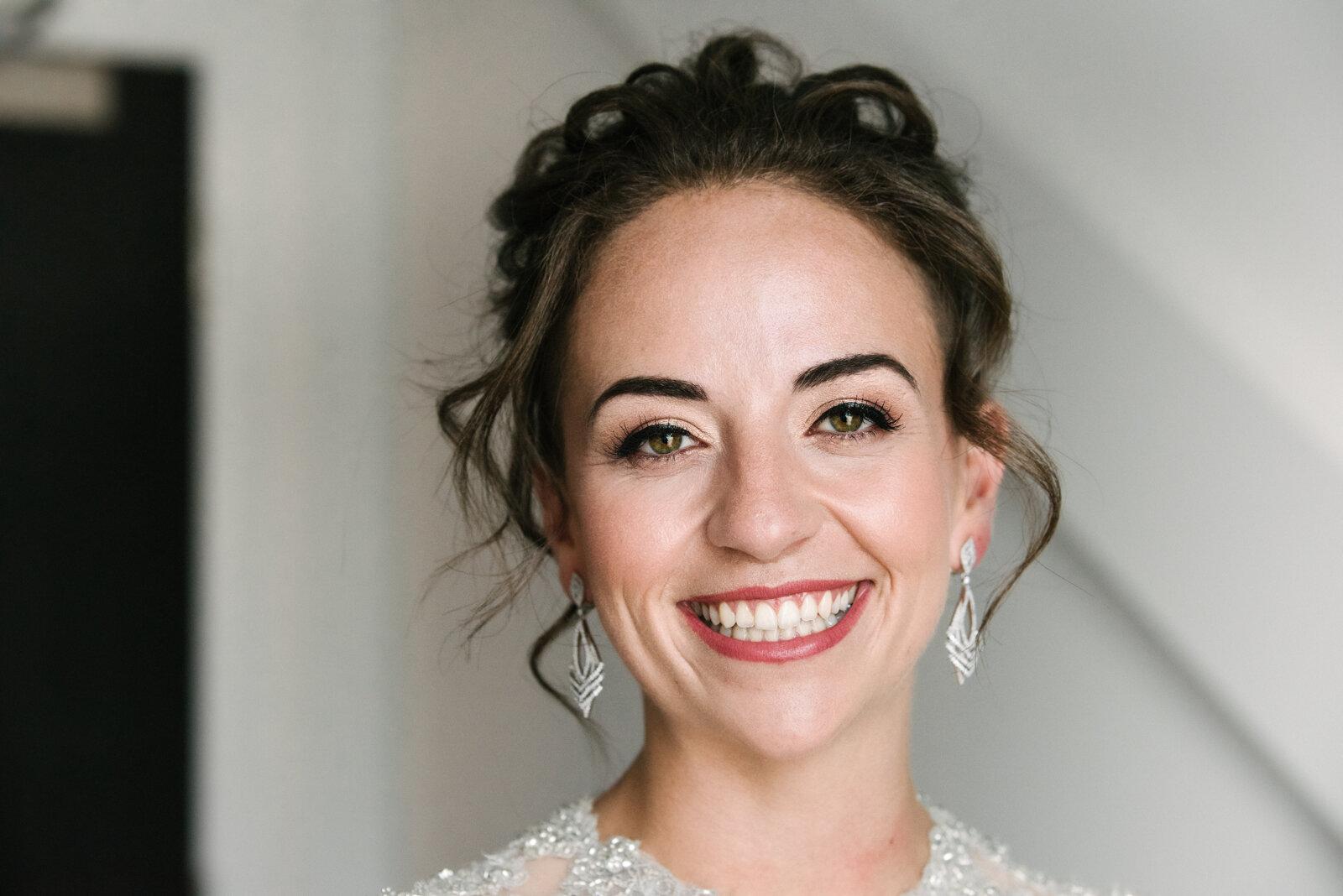 Alicia Smiles love is love | morgan & alicia's kitchener wedding — quirky