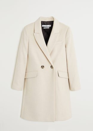 I recently purchased this coat from  Mango  when I was searching for a nice blazer. Instead, I saw this light cream wool coat and completely disregarded the blazer search. This is somewhat a more affordable version of the Aritzia Stedman coat - the price is halved. It is also slightly shorter, as it hits the knee area. The fabric might even be softer than the other coat. I am excited to wear this coat in the upcoming months! There is a 30% off sale going on right now - use the code COLUMBUS19 at checkout!