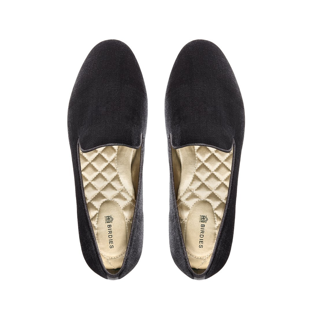 These flats from  Birdies  are an even more comfortable pair of shoes, which is probably why it is Meghan Markle approved. Once you feel the cushioning that is lining the interior of the shoe, your feet will probably thank you. They have 7 layers of support for your feet! The velvet styles have recently decreased in price, possibly because they released leather styles, which are more expensive. These look great with any outfit and keep your feet comfortable as well.