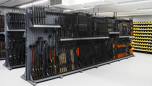 Diverse weapon training - We maintain one of the largest inventories of firearms and tactical equipment in the United States for Armorer/Operator training.