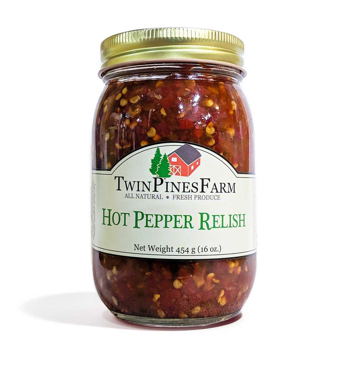 Hot Pepper Relish - $6.50
