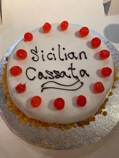 Sicilian Cassata - Sergio Mitrano - Sicilian Professional Chef - Italian Personal Chef - Winchester - Hampshire