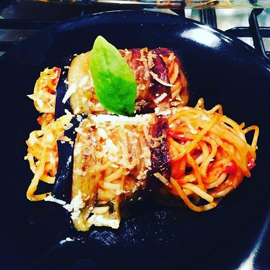 Norma Spaghetti Rolls - Sergio Mitrano - Sicilian Professional Chef - Italian Personal Chef - Winchester - Hampshire