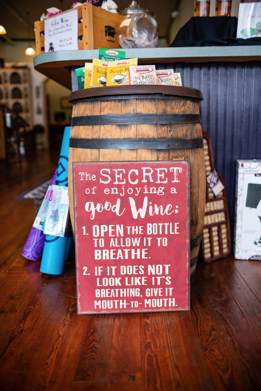 Gift Shop at The Rusty Nail Winery