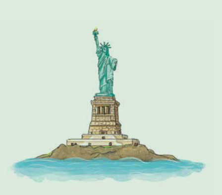 - Immigrants come from countries far,               to dream their dreams beneath American stars.Let's see who's here in this great place,           a land of diversity: the United States!