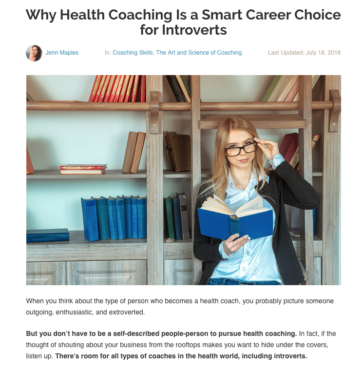 Featured on the Primal Health Coach Institute Blog, 2018  Read full post