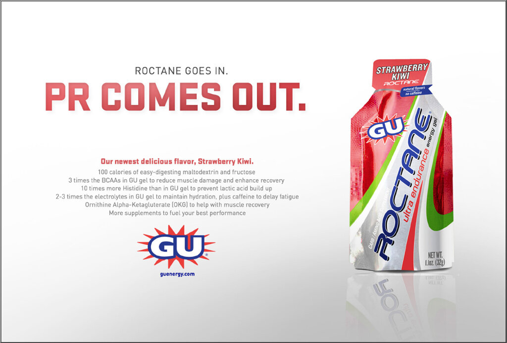 Client: GU Energy Labs; Full-page spread, 2014