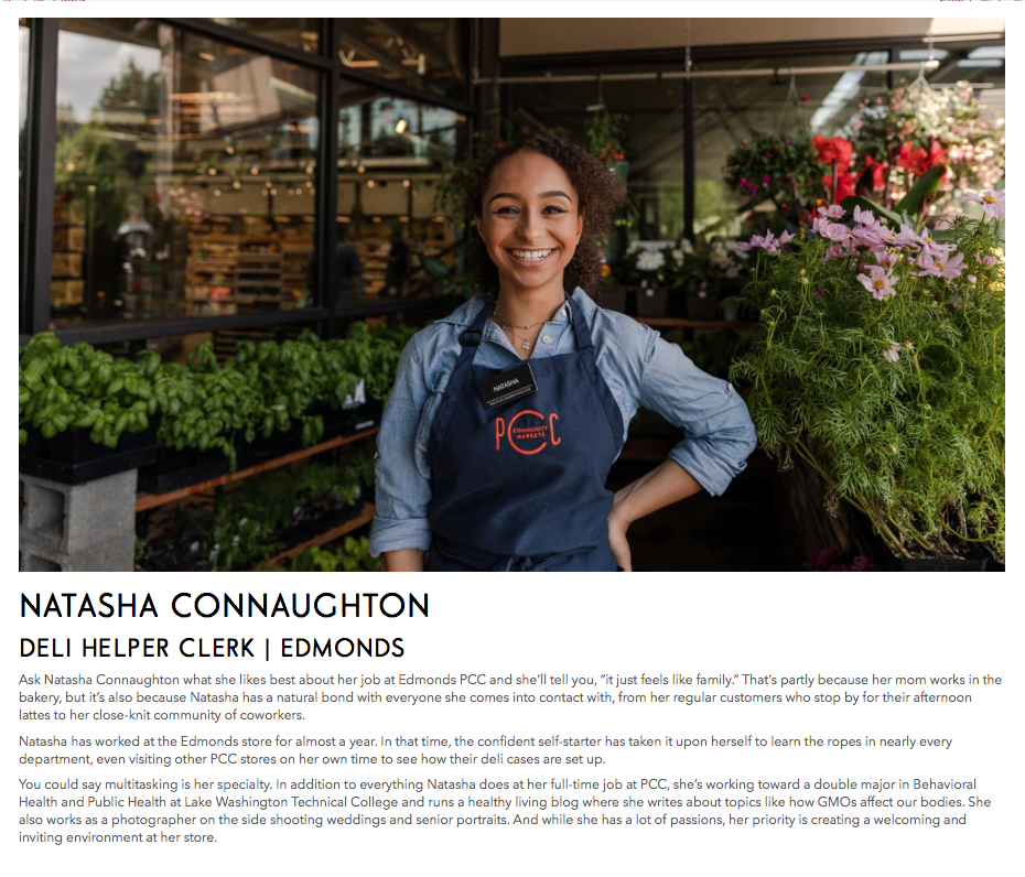 Featured on PCC Community Markets website, 2019  Read full article