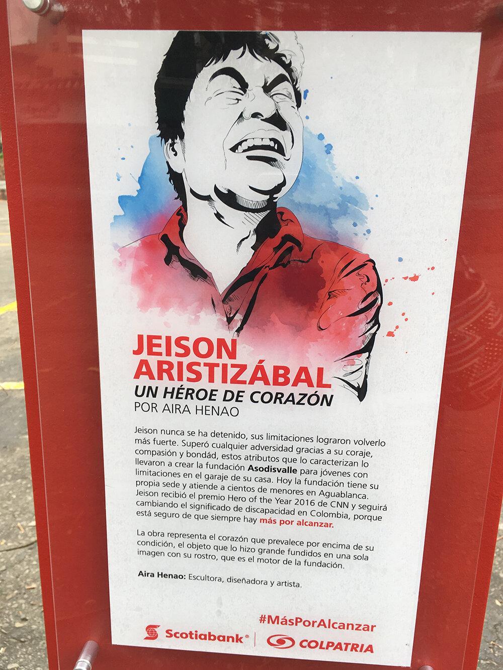Héroe de corazón - Scotiabank- Colpatriacuraduría: Camila téllez , Itinerante - Colombia-