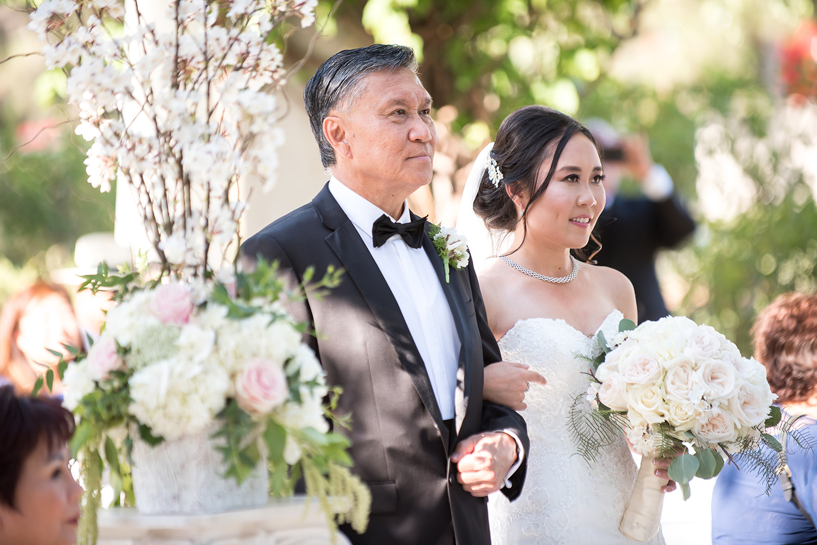 bride with father at Coyote Hills, flowers by Fitzgerald's.jpg